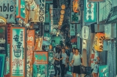 """Yoshito Hasaka creatively depicts the """"Tokyo rarely seen by others"""""""