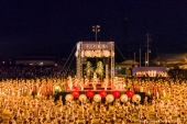 """The largest summer festival in Yamaga city with overwhelming """"A thousand ladies dancing with lanterns"""""""