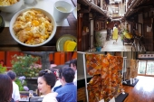 Enjoy a walk through the retro alleyways of the Nishijin District