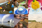 "Take a sand bath! A model course and 6 things to do in ""Ibusuki""."