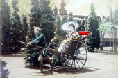 Japan in Meiji period, viewed in colored pictures