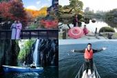 Diễn viên Thanh Sơn và diễn viên Thanh Hương trải nghiệm du lịch tại Kumamoto - Nhật Bản, gửi gắm rất nhiều những hình ảnh đẹp của tỉnh Kumamoto tới khán giả Việt Nam