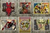 The movie / game ukiyo-e prints by ukiyo-e artist, Kenji Iwasaki