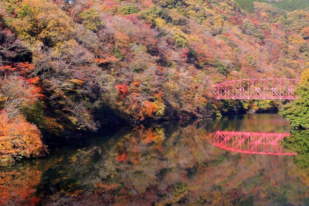 Taishakukyo Gorge/Onbashi Bridge