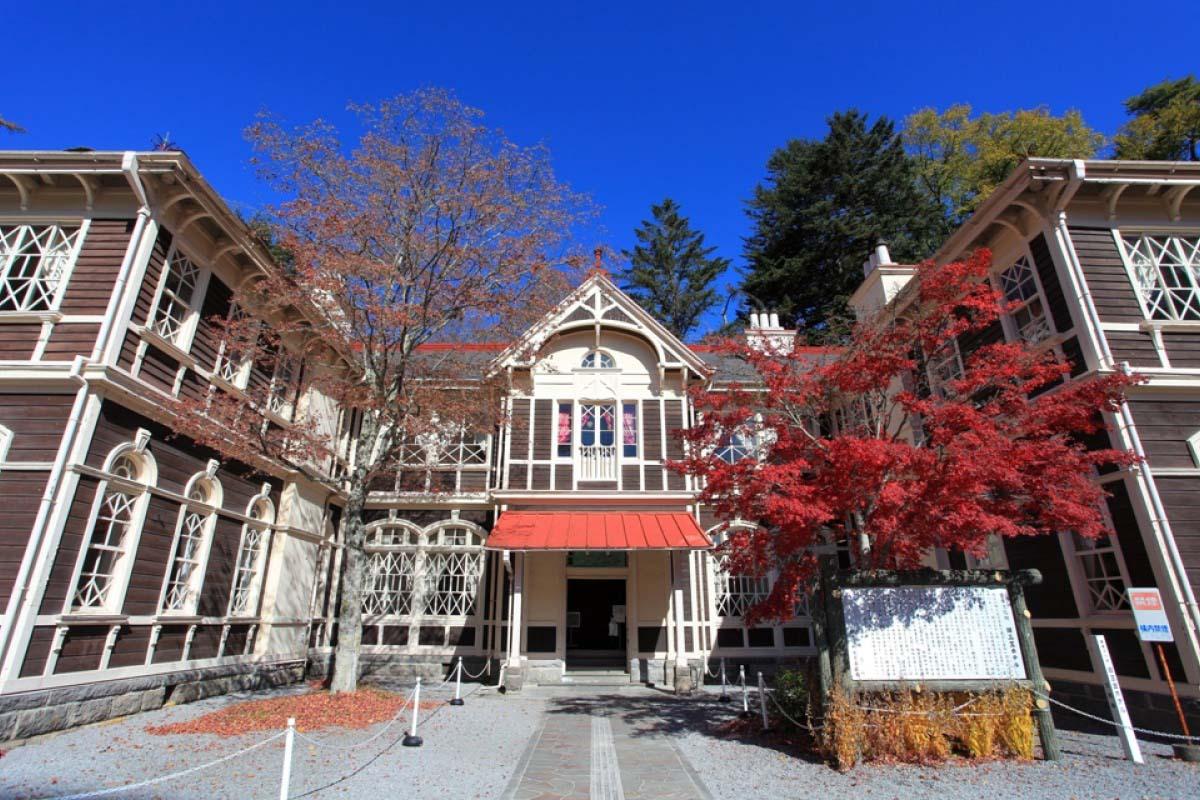 「旧三笠ホテル(長野県北佐久郡軽井沢町1339-342)」の画像検索結果