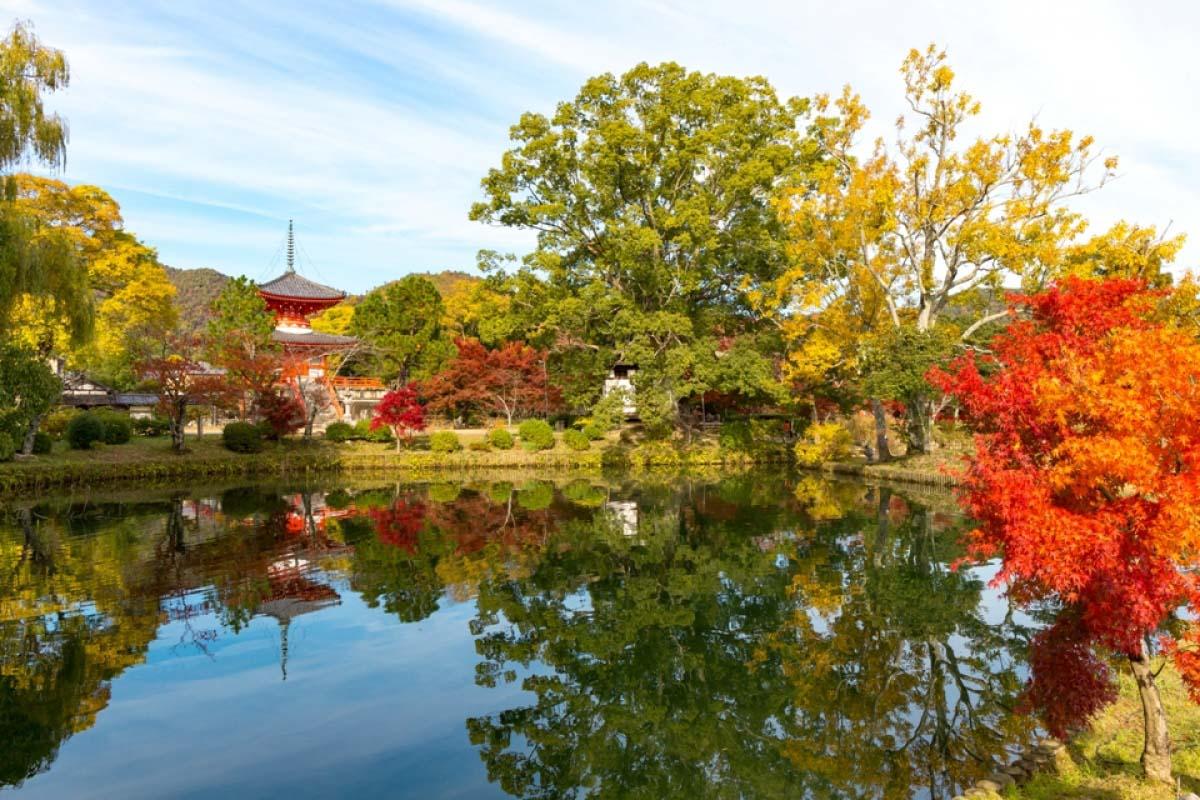 The Old Saga Imperial Palace Daikakuji Temple
