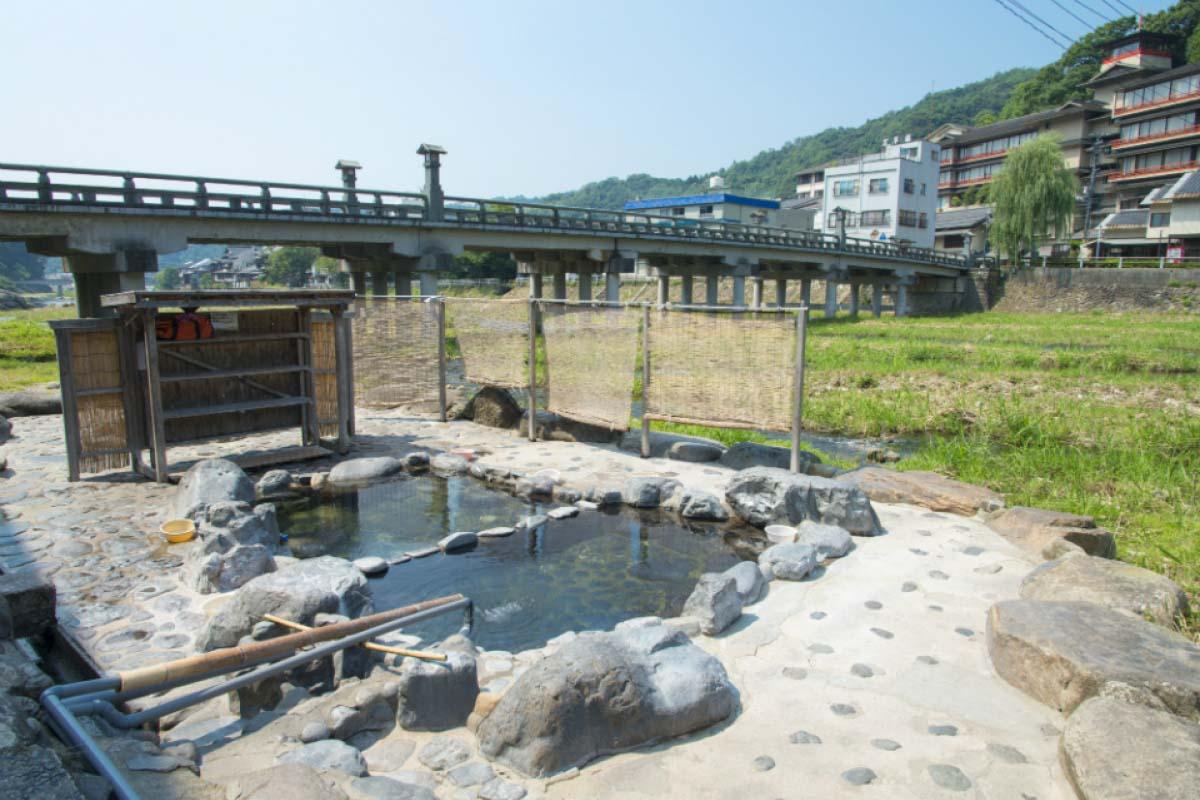 Misasa Onsen (Hot Springs)