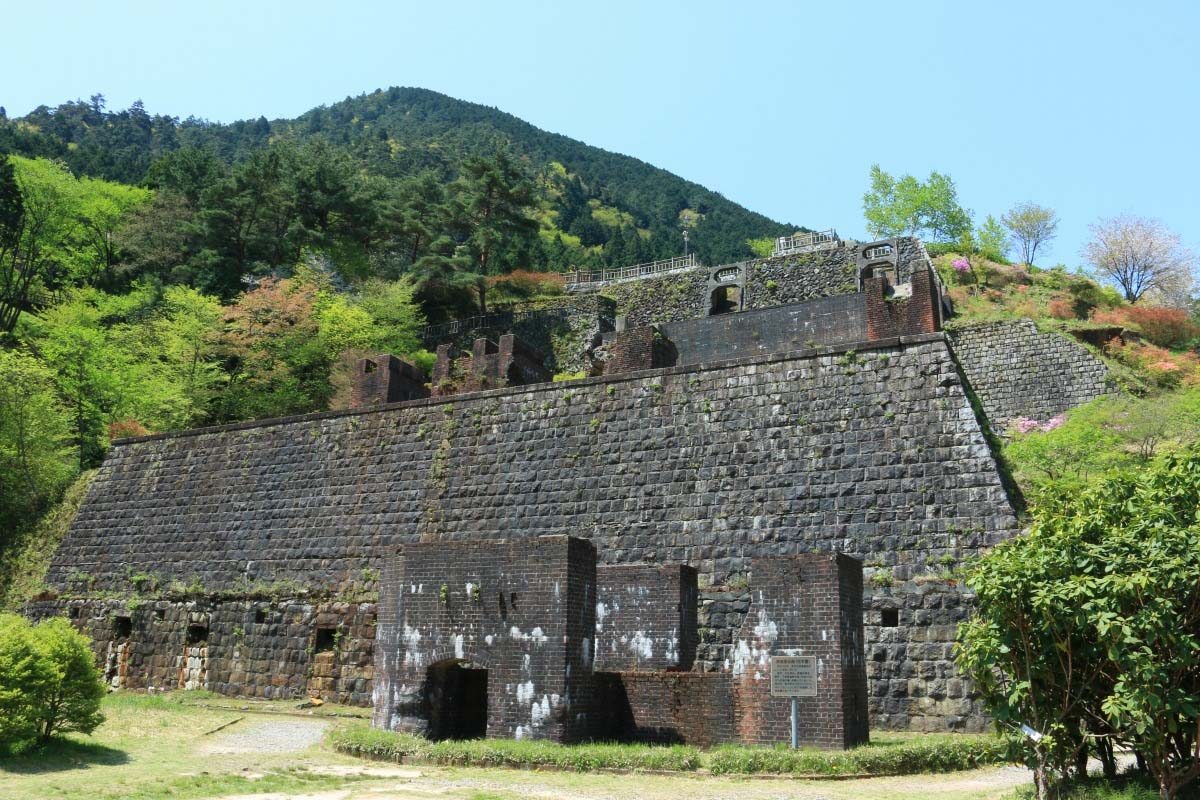 Besshi copper mine