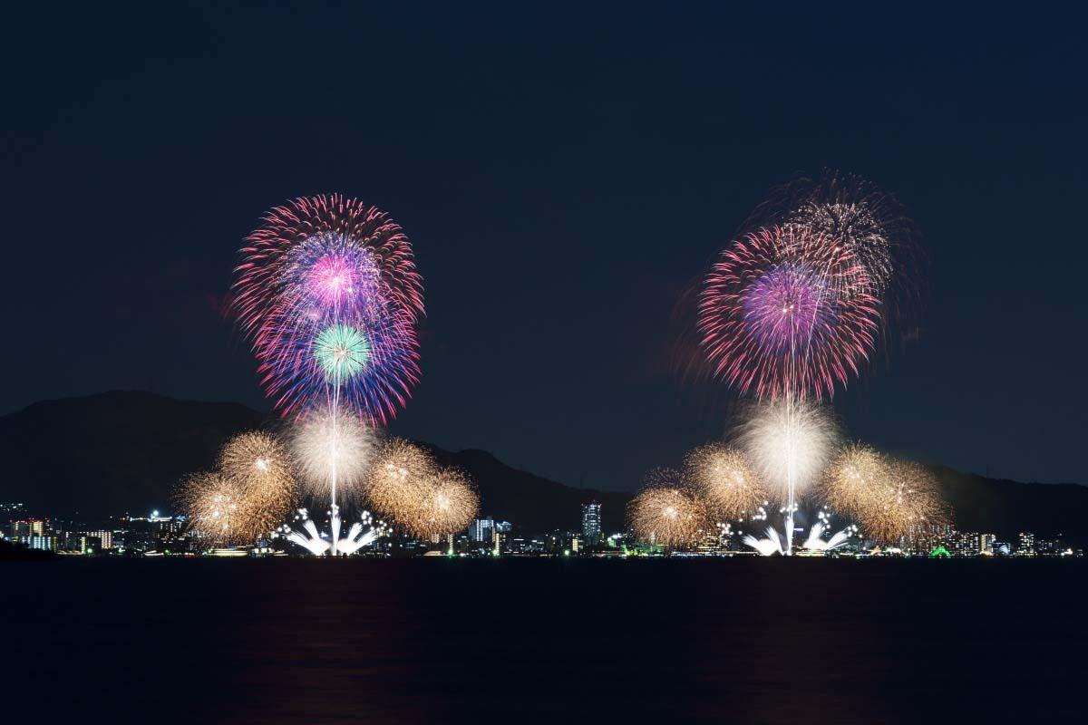 Biwako Fireworks Festival