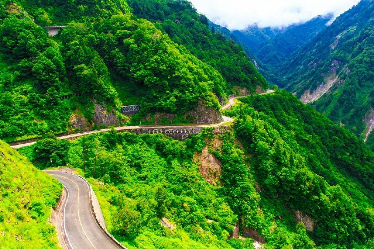 Hakusan Shirakawa-Go White Road (formerly Hakusan Super Forest Road)