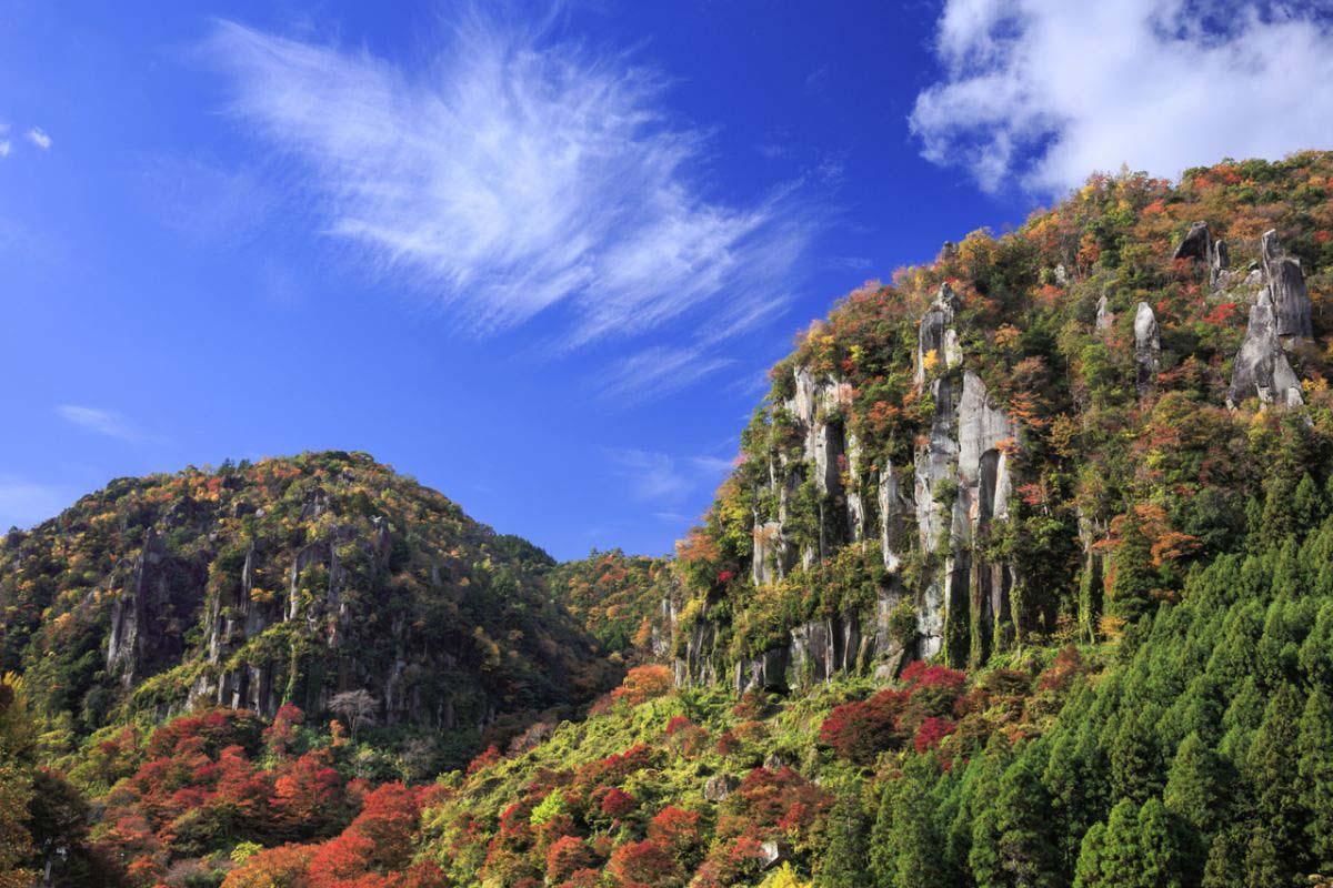 Shin-Yabakei Gorge