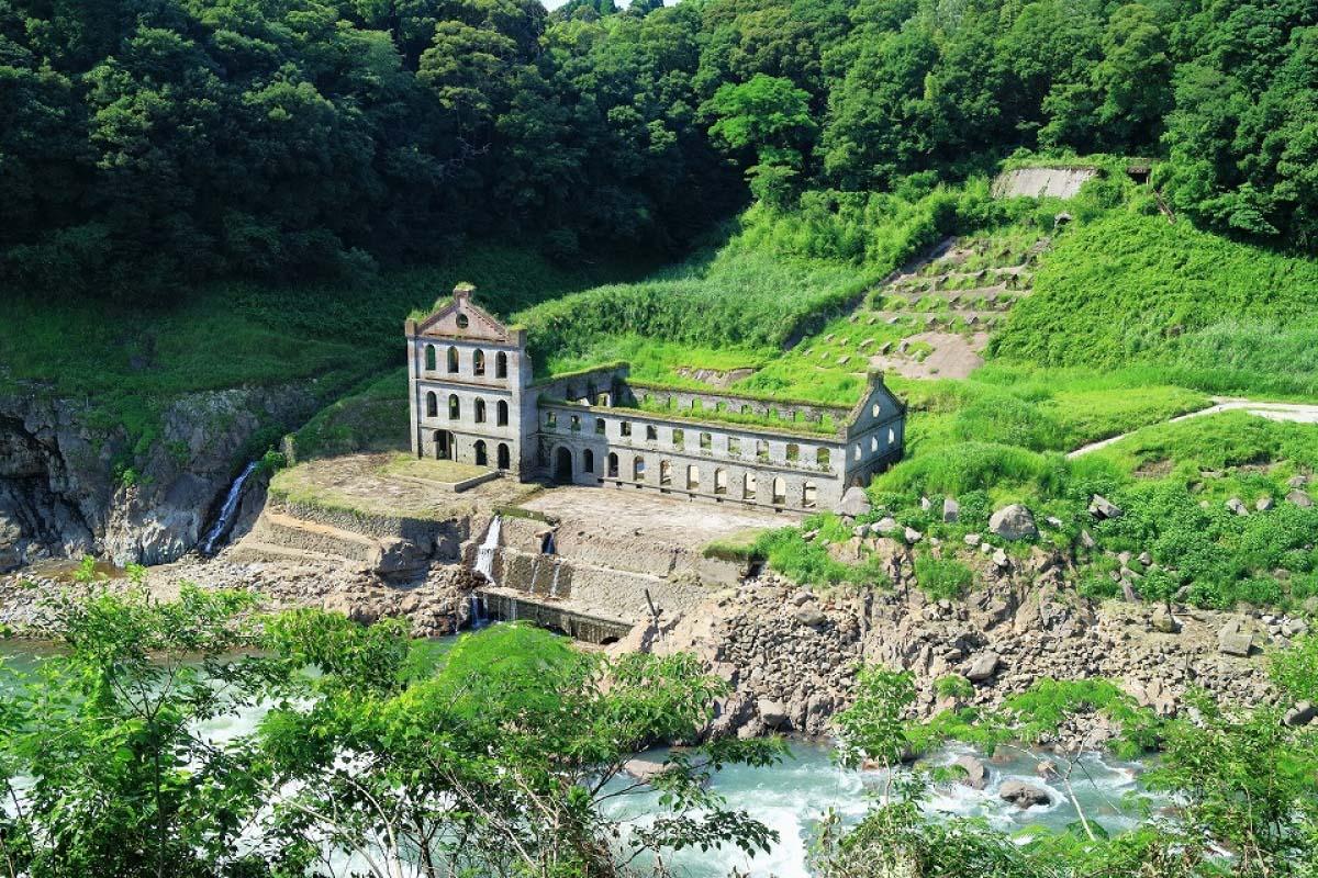 Sogi Power Plant Ruins