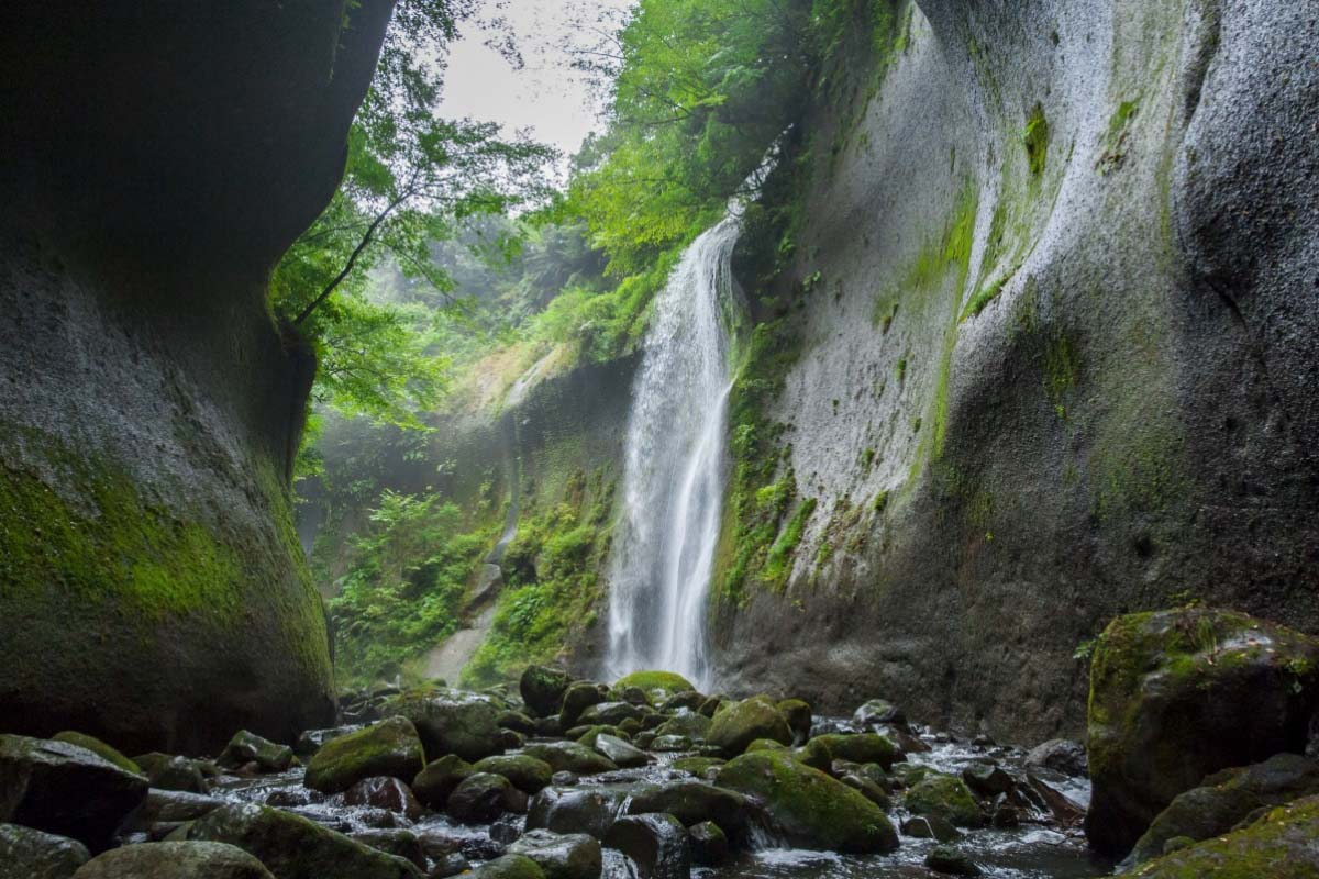 Yufugawa valley