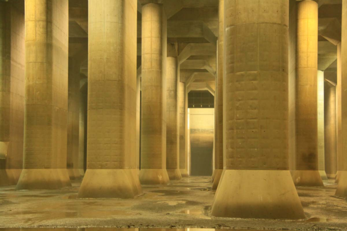 The Metropolitan Area Outer Underground Discharge Channel (Ryu-Q-kan)