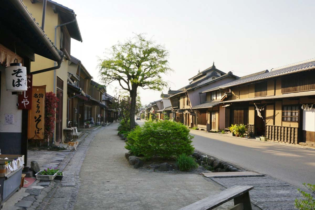 Unno-juku Historic Post Town on Old Hokkoku Kaido