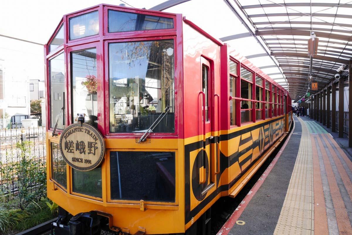 Đường sắt ngắm cảnh Sagano