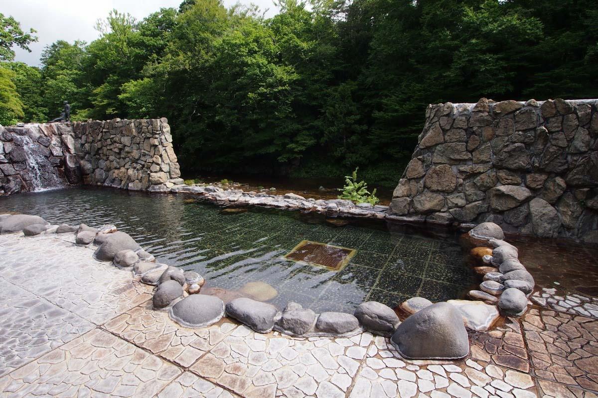 Suối nước nóng Yagen