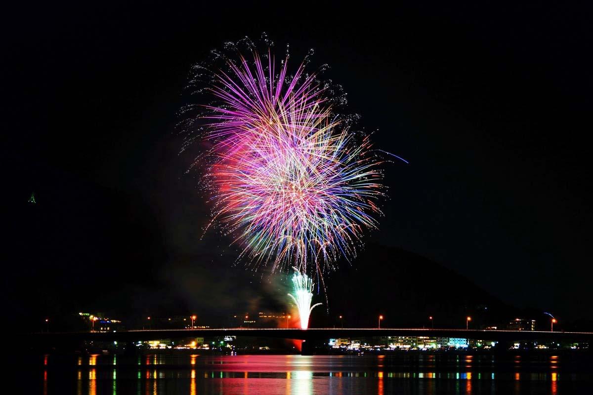 Đại hội pháo hoa hồ Kawaguchi
