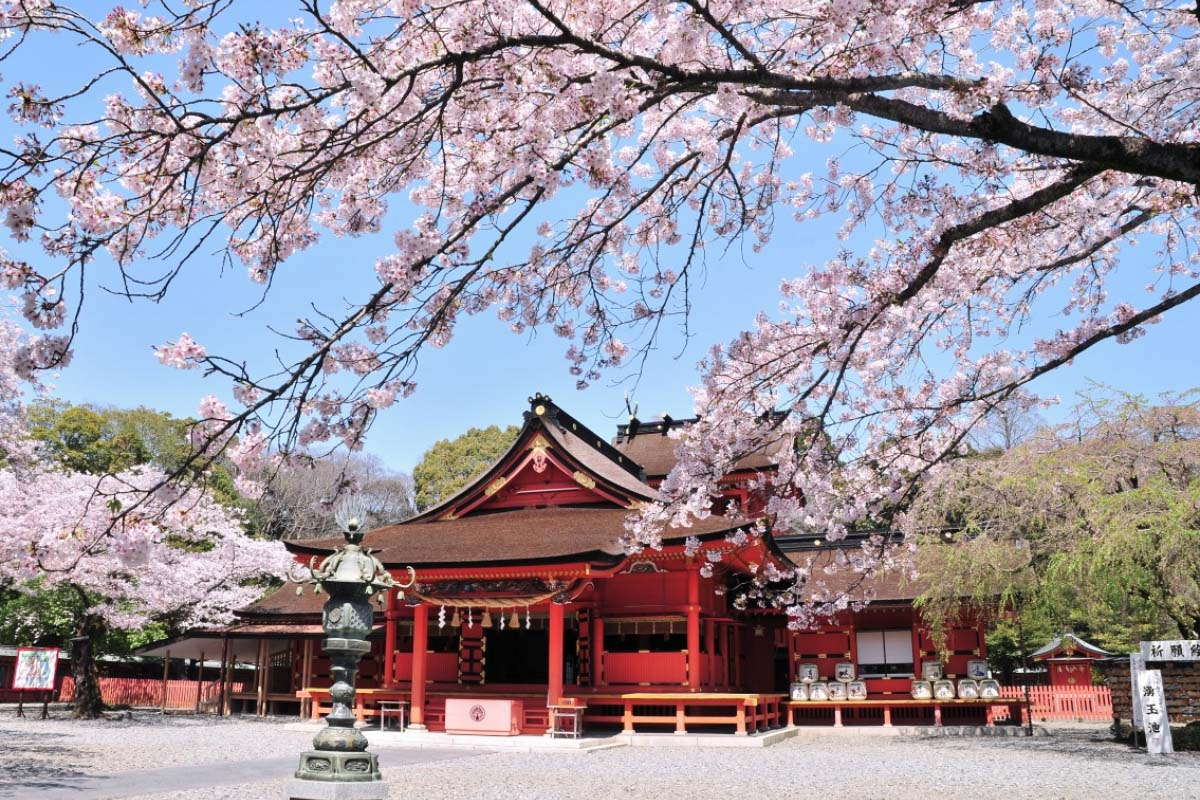 Kết quả hình ảnh cho Đền thờ Fujisan Hongu Sengen-taisha