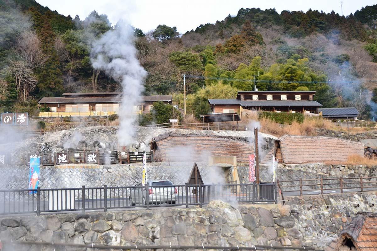 Suối Nước nóng Beppu