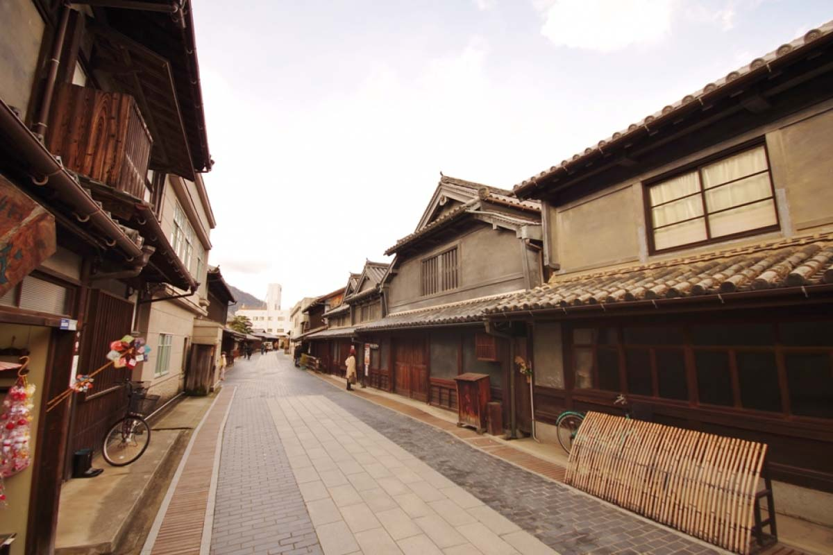 Takehara City Townscape