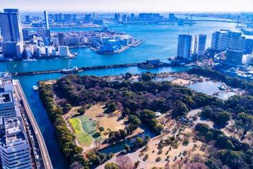 Hama Rikyu Gardens(Tokyo)