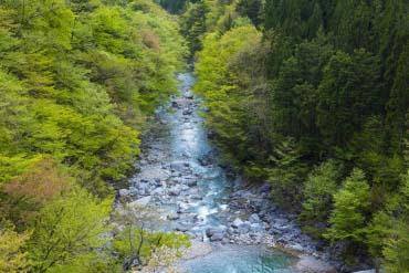 Tsukechi Gorge(Gifu)