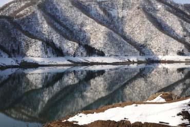 Lake Kuzuryu(Fukui)