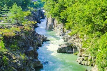 Genbikei Gorge(Iwate)