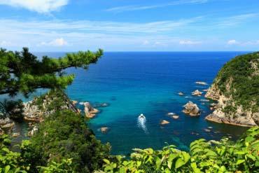 Uradome Coast(Tottori)