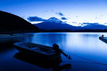 Lake Motosuko(Mt. Fuji)