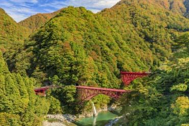 Kurobe Gorge Railway(Toyama)