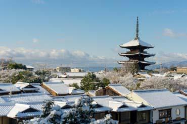 Kuil Hokanji (Yasaka Pagoda)(Kyoto)