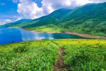 Lake Nozori(Gunma)