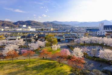 上田城迹公园(长野)
