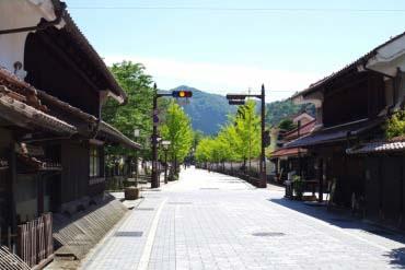 Jalan Tonomachi di Tsuwano