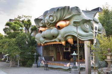 難波八阪神社(大阪)