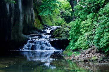 Shimizu Stream Square (Nomizo Falls, Kameiwa Cave)(Chiba)