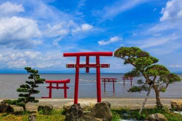 大魚神社海中鳥居(佐賀)