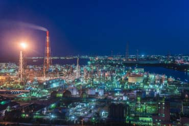 Yokkaichi Complex Night View