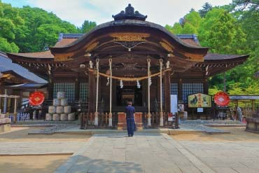 Takeda Shrine(Yamanashi)