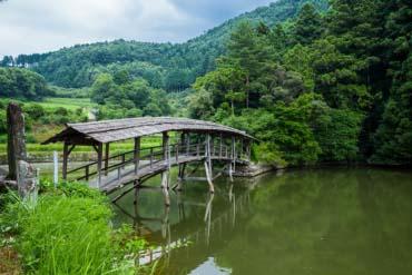 Ishidatami in Uchiko(Ehime)