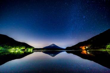 精進湖(山梨)