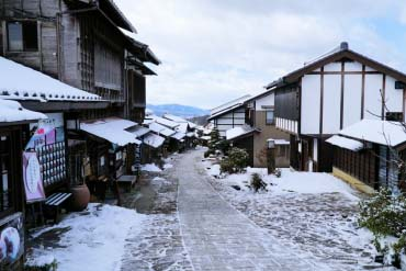 Magome-juku Historic Post Town(Gifu)