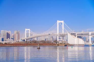 Odaiba Rainbow Bridge(Tokyo)