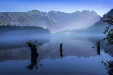 Taishoike Pond(Nagano)