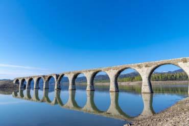 舊國鐵士幌線的水泥拱橋群(丹珠別川橋)(北海道的其他景區)
