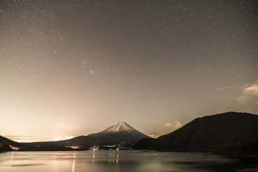 本栖湖(富士山)