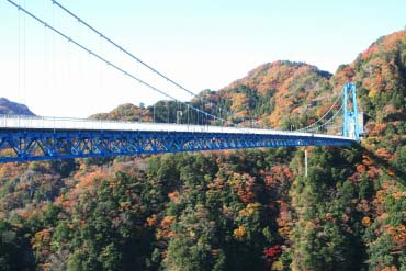 Ryujin Big Suspension Bridge(Ibaraki)