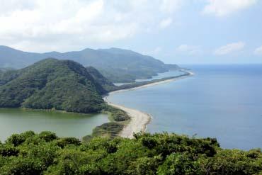 Bãi biển Nagameno đảo Kamikoshiki-jima